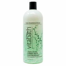 Vitabath Cool Spearmint & Thyme Bubble Bath 33.8 fl oz/1L - $24.74