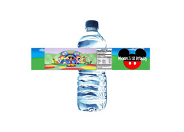 Mickey Mouse Clubhouse Birthday Custom Water Bo... - $5.00