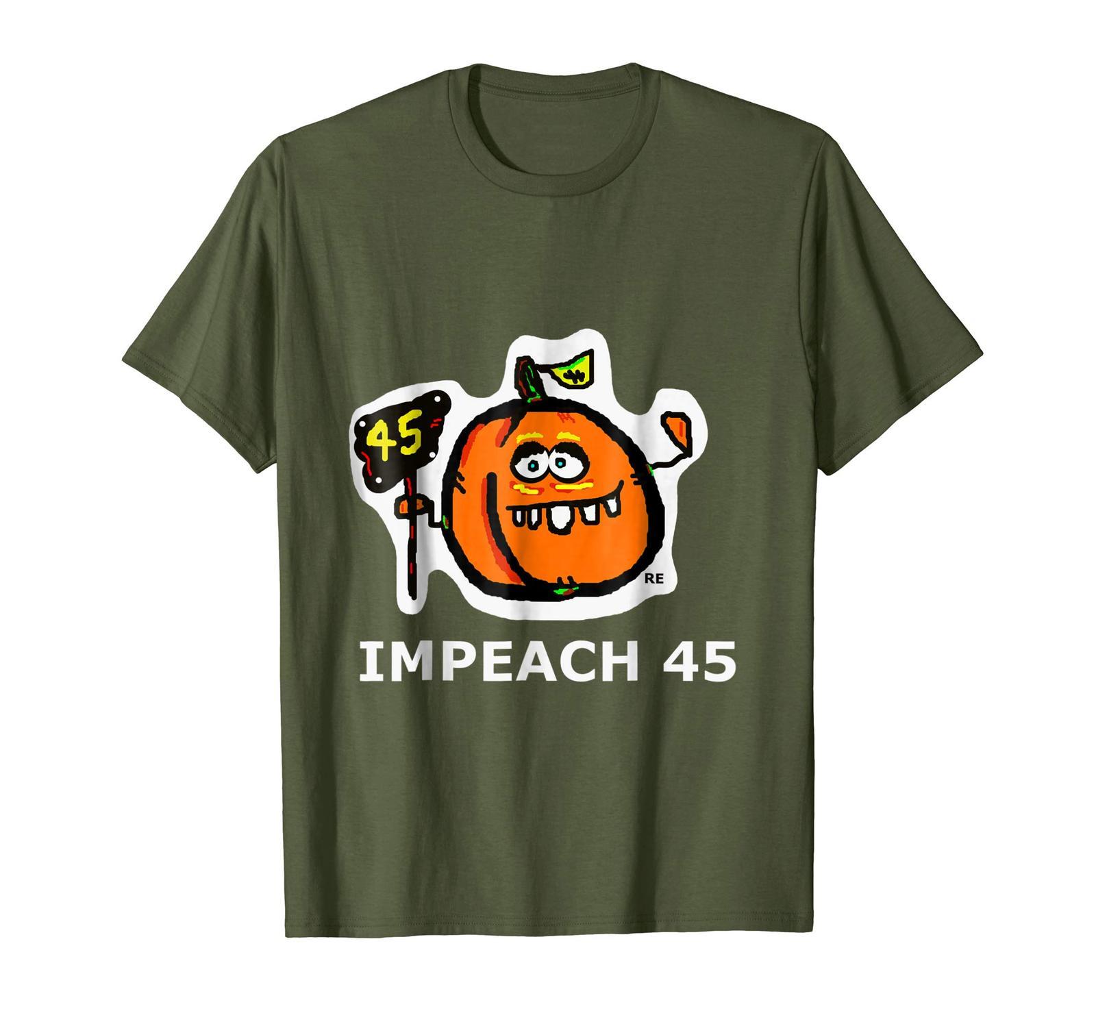 Teacher Style - Anti Trump Shirt Trumpeach 45th President Impeach 45 T-Shirt Men