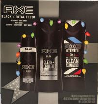 AXE Apollo Holiday 3-Pc Gift Set Deodorant Body Spray, Wash, 3-in1 Shamp... - $19.98