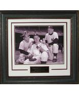 Mickey Mantle, Yogi Berra and Whitey Ford unsigned New York Yankees 11X1... - $136.95