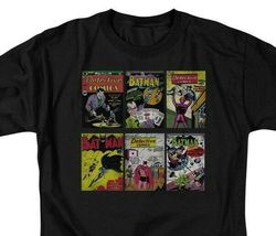 Batman DC Comic Book Covers Graphic T-shirt Retro Superhero BM1960 image 3