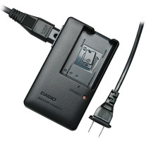 Casio BC 90L battery charger - camera EX FH100 EX H20 EX H10 NP90 plug a... - $19.75