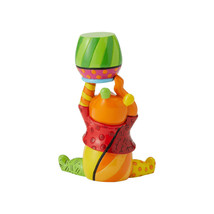 "3.66"" Disney Britto Pooh Mini 3 Dimensional Figurine Hand-painted Stone Resin image 2"