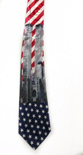 Fratello World Trade Center Twin Towns Novelty Tie Necktie image 3