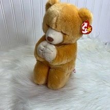 Ty Buddies Hope Plush Stuffed Animal Bear Kneeling in Prayer - $9.46