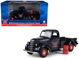 "1938 International D-2 Pickup ""GULF\"" Aviation Products Truck With Barr... - $65.98"