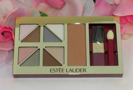 New Estee Lauder Pure Color Eye Shadow Cheek Blush Pallette Soft Neutral... - $22.99