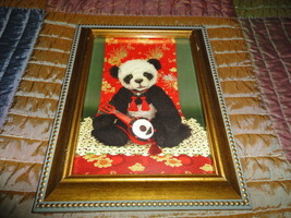 One & Only Bears Artist Michelle Lamb OOAK MAYSING Panda Photo Art Card ... - $67.54