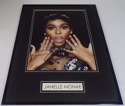 Janelle Monae Signed Framed 16x20 Poster Photo Display - $140.24