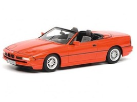 Schuco 1/43 Scale BMW 850Ci Cabriolet Convertible 1990 Red Diecast SH090... - $360.32