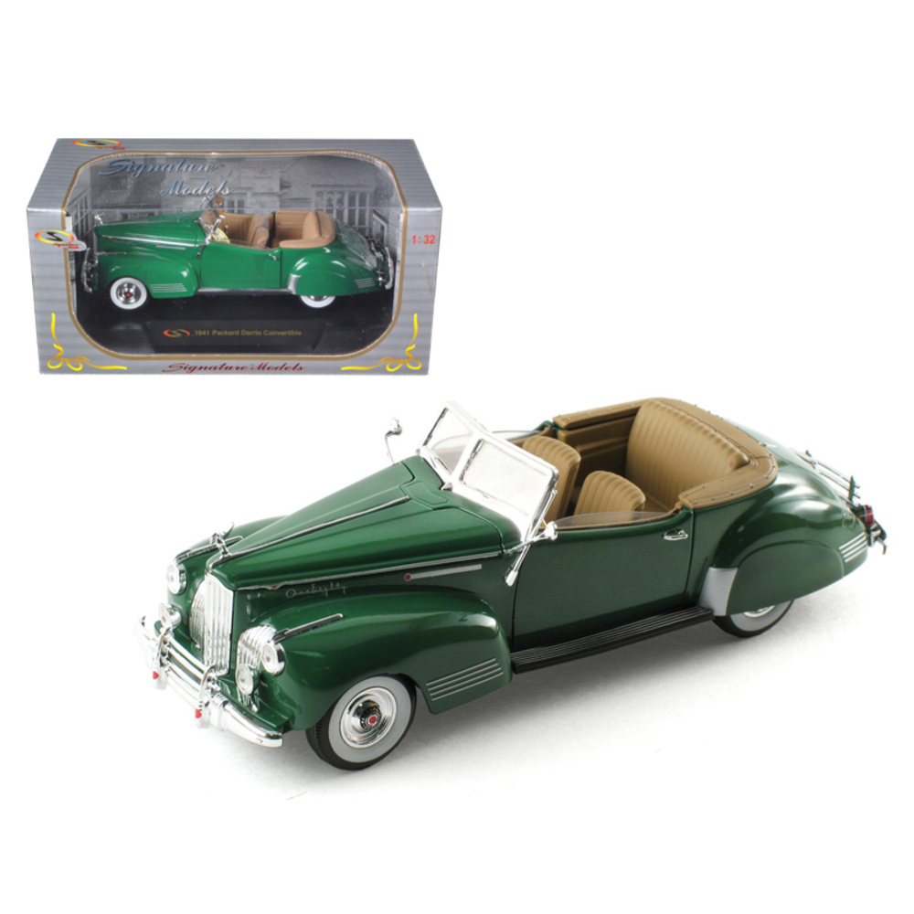1941 Packard Darrin One Eighty Green 1/32 Diecast Car Model by Signature Models