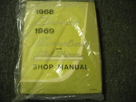 1968 Ford Bronco 1969 Econoline Club Wagon Shop Service Repair Shop Manual New - $98.99