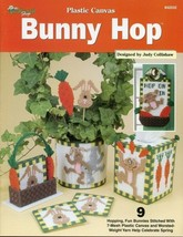 Bunny Hop Rabbit Set 9 Designs Plastic Canvas PATTERN/INSTRUCTIONS Leaflet - $3.57