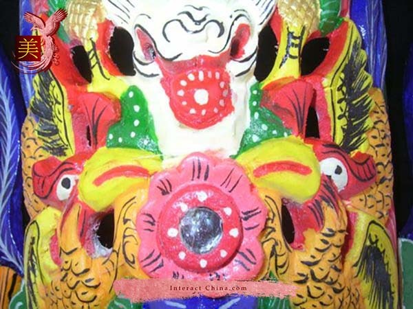 Chinese Drama Home Wall Décor Opera Mask 100% Wood Craft Folk Art #127 Pro