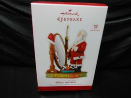"Hallmark Keepsake ""Snug Fit For Santa"" 2013 Sound/Light Ornament NEW 3 i... - $21.09"