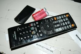 Onkyo RC-898M Receiver Oem Remote Tested W Batteries Original - $25.11