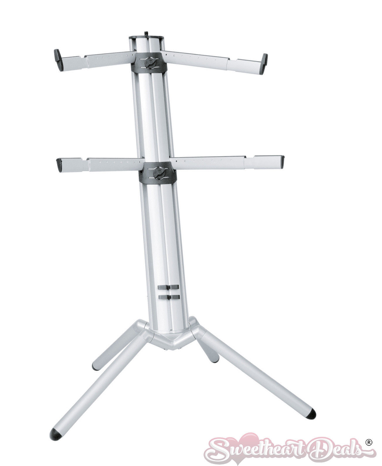 k m spider pro keyboard stand silver 18860 keyboard stands. Black Bedroom Furniture Sets. Home Design Ideas