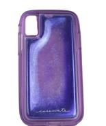 iPhone X Plus Case Case-Mate iPhone X Plus Case w/ Glitter Gel Purple - $12.89