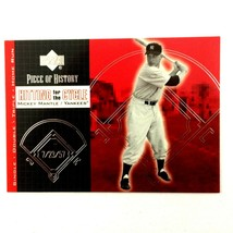 Mickey Mantle 2002 Upper Deck Piece of History Hitting For The Cycle Ins... - $7.87