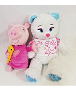"Peppa Pig Sleep N' Oink 12"" Plush Talking Music Lullaby + Disney Frozen ... - $27.23"