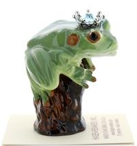 Hagen-Renaker Miniature Tree Frog Figurine Birthstone Prince 03 March Aquamarine image 2