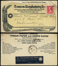 Dennison Manufacturing Co. 10/1/1898 All Over Advertising Cover - Stuart... - $80.00