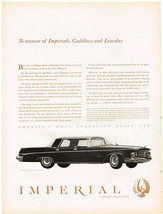 Vintage 1963 Magazine Ad Chrysler Impressive Silence of the Imperial Drive - $5.93