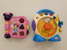Lot of 2 learning toys. One is Fisher price & Disney Minnie mouse - $10.00