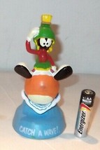 """✰NEW 1989 Looney Tunes Marvin Martian Catch Wave 4 1/2"""" rubber figurine ... - $11.90"""
