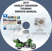 Harley Davidson 2015 Touring All Models Service Repair Manual on CD - $10.00
