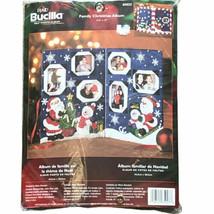 "Plaid Bucilla Family Christmas Album Kit 85023 Felt Photo Album 17.5"" x ... - $39.84"