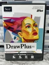 Serif Drawplus X6 NEW Windows PC Software Digital Art Illustrator Design... - $24.70