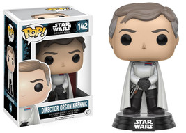 Star Wars Rogue One Director Orson Krennic Pop Figure Toy #142 Funko New Nib - $7.84