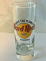 "Hard Rock Cafe PHOENIX AZ - 4"" Shot Glass - COLLECTOR'S ITEM!  Save The ... - $7.87"