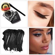 Delineador De Ojos En Crema A Prueba De Agua Waterproof Negro Maquillaje... - $10.87