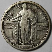 1917S Type 1 STANDING LIBERTY QUARTER 25¢ Coin Lot# MZ 4227