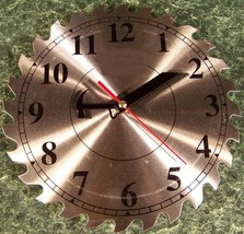 "10"" Steel Circular Saw Blade CLOCK with Second Hand NEW - $17.99"