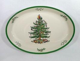 "Spode English Christmas Tree Platter-10"" by 14"" - $29.92"