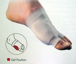 Pedifix Visco-Gel Bunion Care Sleeve S/M 3mm Thick Covered Gelsmart Mgel Comfort - $21.60