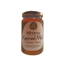 Thyme-Flowers-Conifers Raw Honey 450gr from CRETE superb honey from Greece - $24.65