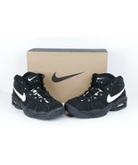NOS Vtg 90s Nike Air Modify Force Mid Basketball Sneakers Shoes Black Me... - $138.55