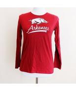 NCAA University of Arkansas Razorbacks Youth Teen Long Sleeve Shirt XL 1... - $14.99