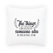 The Things You Take For Pillow Cushion Cover t352p - $243,36 MXN+