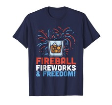 Brother Shirts - Funny 4th Of July Shirt Fireball Fourth Drinking Party ... - $19.95+