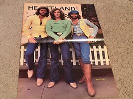 Bee Gees teen magazine poster clipping Heartland sign