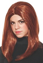 Black Widow Wig Captain America Winter Soldier Red Halloween Costume Accessory - $18.66