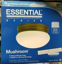 Lithonia Lighting Essential Mushroom Series Antique Bronze Bulb Inc 1097... - $15.00