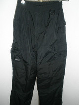 Kids Mambosok Black Snow/Ski Pants Size M - $22.76