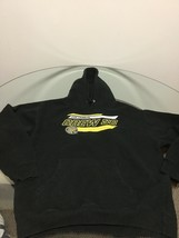 Men's Columbus Crew SC Black Hoodie Sweatshirt Large Good Condition - $14.84
